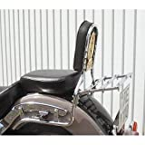 Sissy Bar twisted with pad and emblem for Yamaha XVS 650 Drag Star Classic