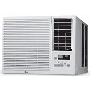 LG Electronics LW7014HR 7000 BTU 115-volt Window-Mounted Room Air Conditioner with 3850 BTU Supplemental Heating Function by LG Electronics