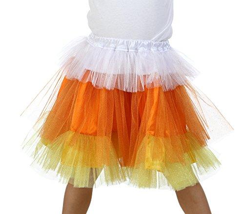 Princess Paradise Premium Child Candy Corn Glitter Skirt Costume, Small/Medium, One Color (Candy Corn Costume compare prices)