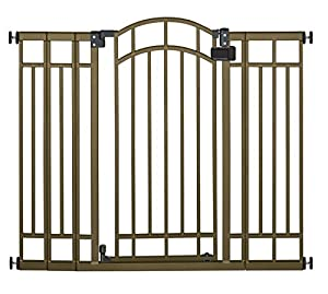 Summer Multi-Use Deco Extra Tall Walk-Thru Gate, Bronze (3 Gates)