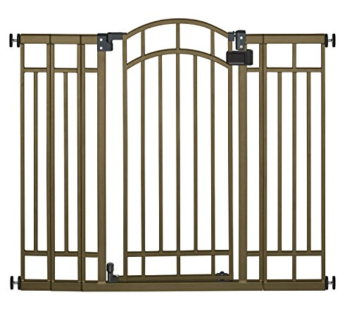 Summer Multi Use Deco Extra Tall Walk-Thru Gate, Bronze (2 Gates) front-544721