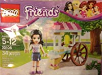 Lego Friends Polybag 30106 Emma with Ice Cream Cart Stand by LEGO