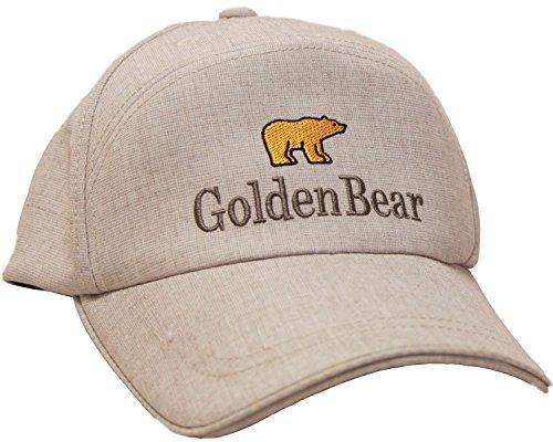(ゴールデンベア)Golden Bear ミックスエステルワイドキャップ(ワークキャップ) ベージュ