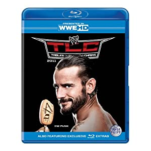 WWE TLC 2011 Blu-Ray CM Punk
