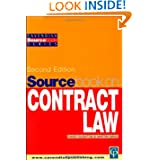 Sourcebook on Contract Law 2/e (Sourcebook Series)