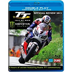 TT Isle of Man 2012 Blu-Ray + DVD
