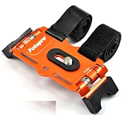 Fotopro Bicycle Mount AM-801 for Camera or Compact Camera Tripods (ORANGE)