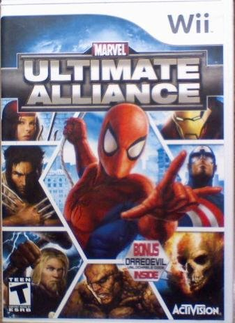 Marvel Ultimate Alliance for Nintendo Wii