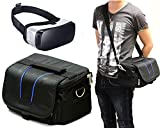 Navitech Black Carry Bag With shoulder Strap For Virtual Reality 3D headsets including the ROKJAM 3D