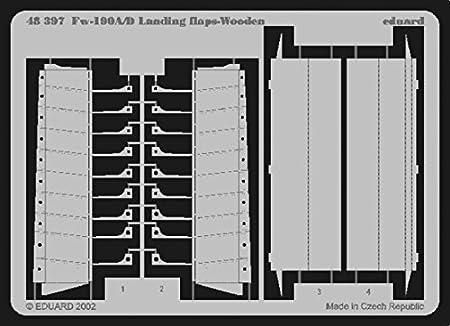 volets d'atterrissage de bois pour Focke Wulf Fw 190A/D (pour maquettes Tamiya)