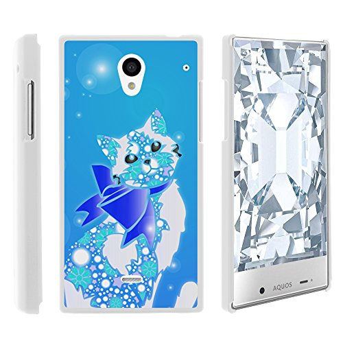AQUOS Crystal Case, Slim Fit Snap On Cover with Unique, Customized Design for Sharp AQUOS Crystal 306 SH (Sprint, Boost Mobile, Virgin Mobile) from MINITURTLE | Includes Clear Screen Protector and Stylus Pen - Classy Cat (Sharp Aquos Phone Case Cat compare prices)