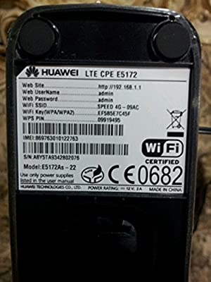 Huawei E5172 150Mbps LTE 4G Router