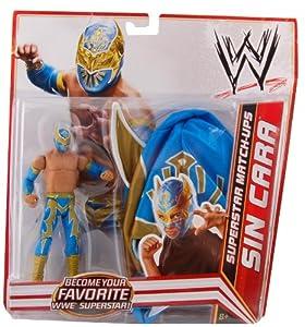 Amazon.com: Mattel Sin Cara WWE Exclusive Superstar Match-ups Figure
