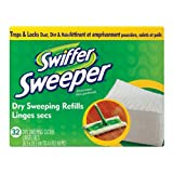 "Swiffer Sweeper Dry Cloths Refill 8 "" X 10.4 "" 32 Count"