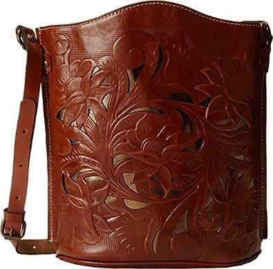 Patricia Nash Women's Cut Out Lavello Bucket Sling Handbag Purse Bag