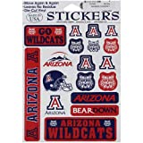 NCAA Arizona Wildcats Small Team Sticker Sheet