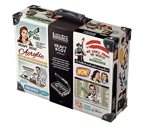 Liquitex Professional Heavy Body Suitcase Color Set