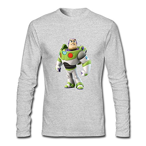 YWT Buzz Toy Story Mens Clothing 100% Cotton Cool