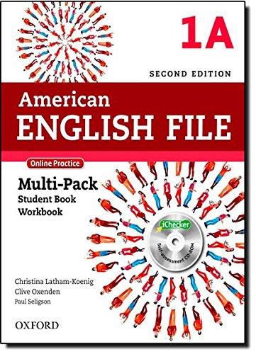 American English File 1A: Multipack with Online Practice and iChecker 2nd Edition (American English File Second Edition)