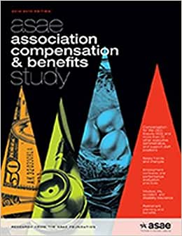 Asae Association Compensation And Benefits Study, 2014-2015 Edition