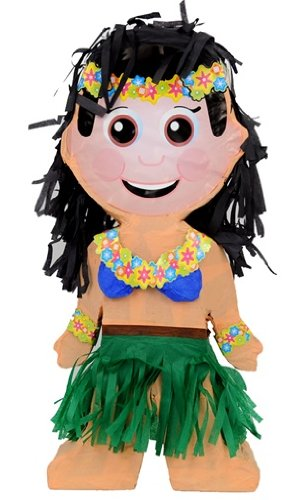 Creative Collection - Piñata a forma di ballerina hawaiana
