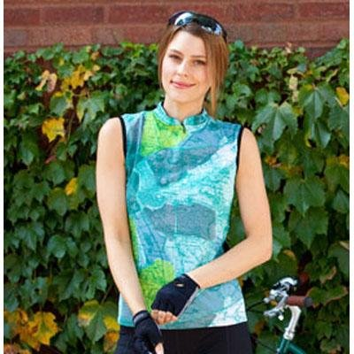 Buy Low Price Terry 2012 Women's Mandarin Sleeveless Cycling Jersey PLUS – 630096 (B0083BZUO4)