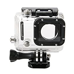 ANLENG Underwater Dive Transparent Housing Waterproof Case For Gopro Hero 3 4 Sports Camera