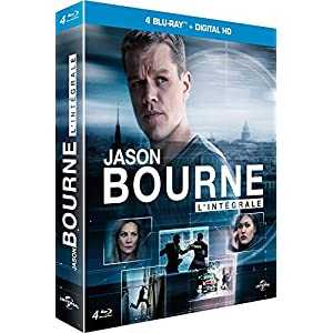 Jason Bourne - L'intégrale : La mémoire dans la peau + La mort dans la peau + La ve