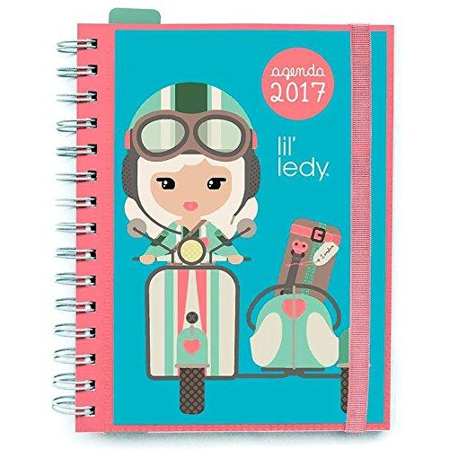 Agenda 2017 Lil Ledy banda elastica