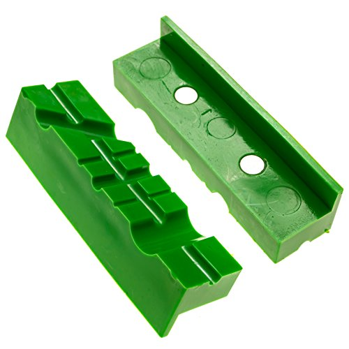 Magnetic Multi-Groove Bench Vise / Vice Jaw Pads - 4.5
