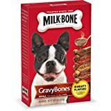 Milk-Bone GravyBones Dog Biscuits - Small, 19-Ounce (Pack of 6)