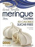 Krunchy Melts' Sugar Free Meringue Cookies - Vanilla (6 Pack)