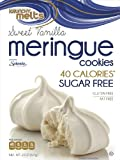 Krunchy Melts Sugar Free Meringue Cookies - Vanilla (12 Pack)