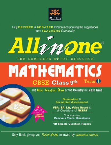 All in One a Complete Book in itself Mathematics CBSE Class 9th, Term-I