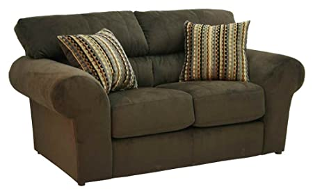 Mesa Loveseat in Chocolate Finish