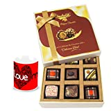 Sweetened Chocolate Gift Box With Love Mug - Chocholik Luxury Chocolates
