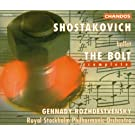 Shostakovich: The Bolt (le boulon) : ballet int�gral