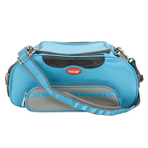Teafco Argo Airline Approved Aero-Pet Carrier, Small, Berry Blue