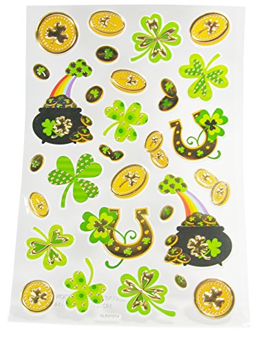 Saint Patrick's Day Stickers - 1 Sheet 29 Stickers - 1