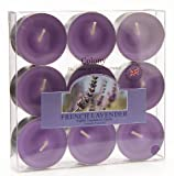 Colony Wax Lyrical Homescents French Lavender Tealights, Box of 9