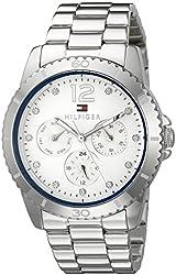 Tommy Hilfiger Women's 1781585 Analog Display Quartz Silver Watch