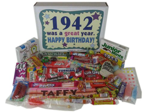 70th Birthday Gift Basket Box 1942