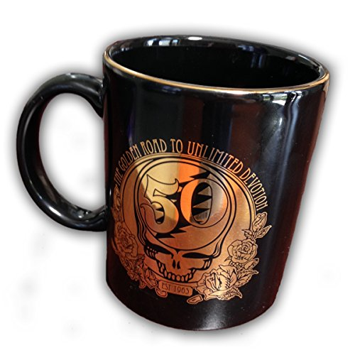 Best Prices! Mugs MG-0158 Grateful Dead 50th Anniversary Mug, Black