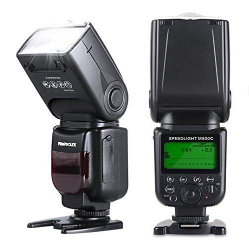 Photoolex M800C 1/8000s Flash Speedlite 580EX II TTL Speedlight for Canon 1Ds Mark III, 1Ds Mark II, 1D Mark IV, 1D Mark III EOS 700D 650D and Other Canon Digital DSLR Cameras (Speedlite 270ex Ii Flash compare prices)