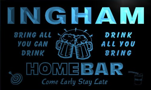 q21580-b-ingham-family-name-home-bar-beer-mug-cheers-neon-light-sign