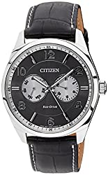 Citizen Eco-Drive Analog Grey Dial Mens Watch AO9020-09H