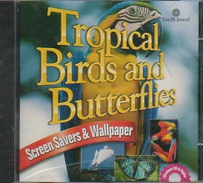 Tropical Birds & Butterflies Screen Savers & Wallpaper