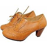 Nature Breeze/Bella Marie Bella-01 Women Lace-up Oxford Shoe