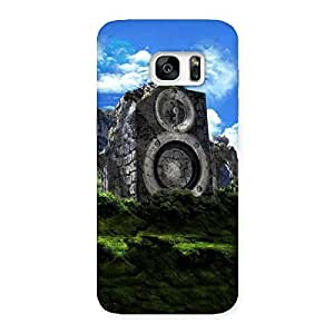 Mountain Range Speaker Back Case Cover for Galaxy S7 Edge