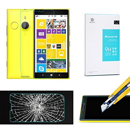 Amjimshop Vovotrade(Tm) Nillkin 9H Hardness Tempered Glass Screen Protector For Nokia Lumia1520